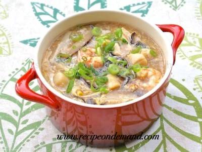 Special White Hot N Sour Soup