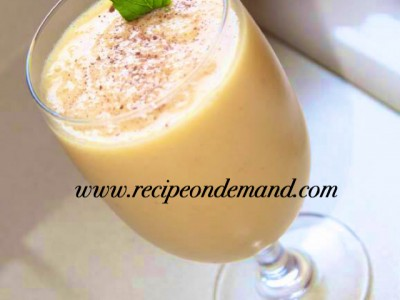 Peach N Coffee Smoothie