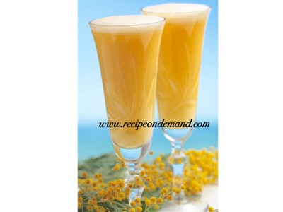Orange Milky Frothy