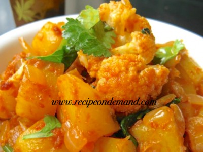 Cauliflower N Potato Curry