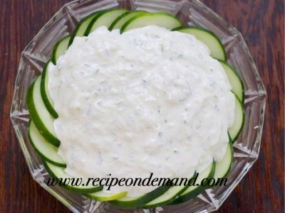 Cucumber Yogurt Dip ( raitta)