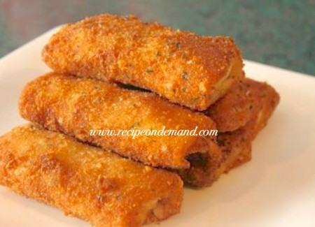Chicken Crispy Crumb Roll