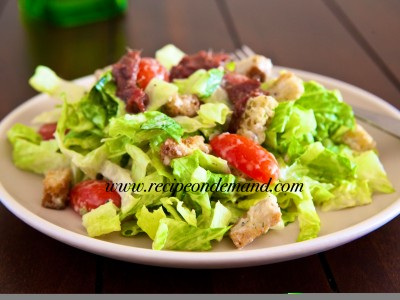 Chicken Ceasor Salad