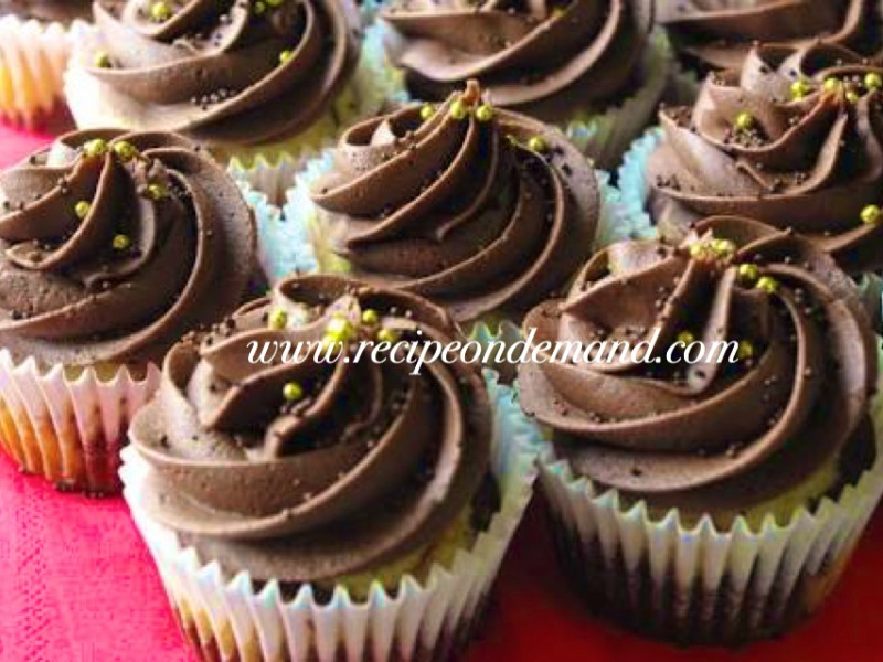 cupcake recipes, breakfast recipes, Marble CupCake