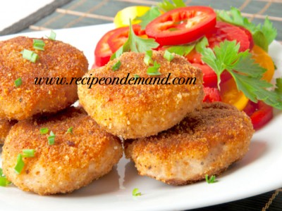 Cheesy Cutlet With Sour Mayo Filling