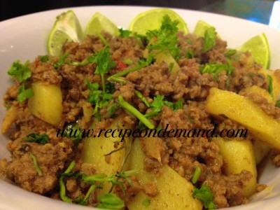Ground Beef Recipe (mince curry)