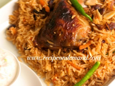 Arabic food recipes recipe on demand arabic kabsa view recipe forumfinder Choice Image