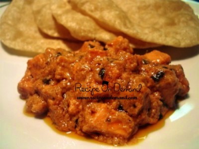 Malai Chicken Curry