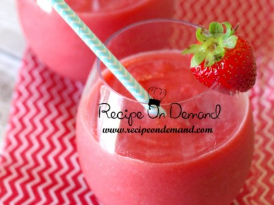 Watermelon And Strawberry Slush